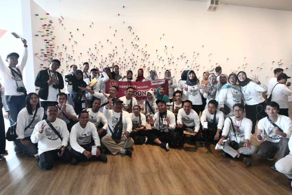 Eksplorasi Museum MACAN Bersama Warga Net MPR-RI Travel and Food Blogger by Evhy Kamaluddin