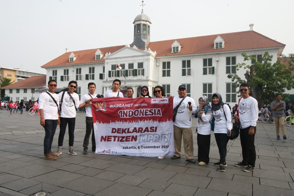 Eksplorasi Kota Tua dan Museum Wayang bersama Warga Net MRP-RI Travel and Food Blogger by Evhy Kamaluddin