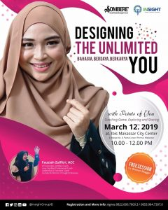 Design The Unlimited You by Insight Indonesia Catatan Evhy