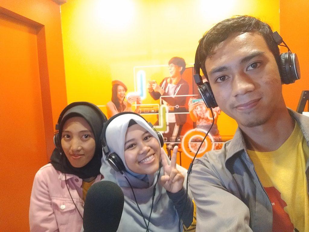 Mencoba ASMR Challenge di YTFF Makassar 2019