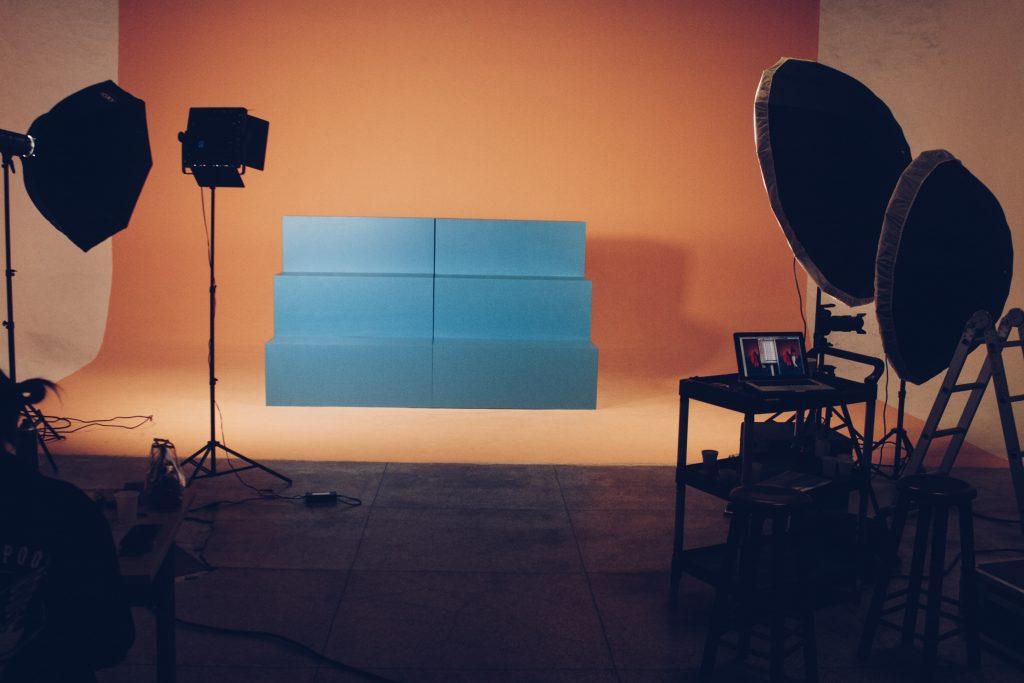 Studio youtuber pemula