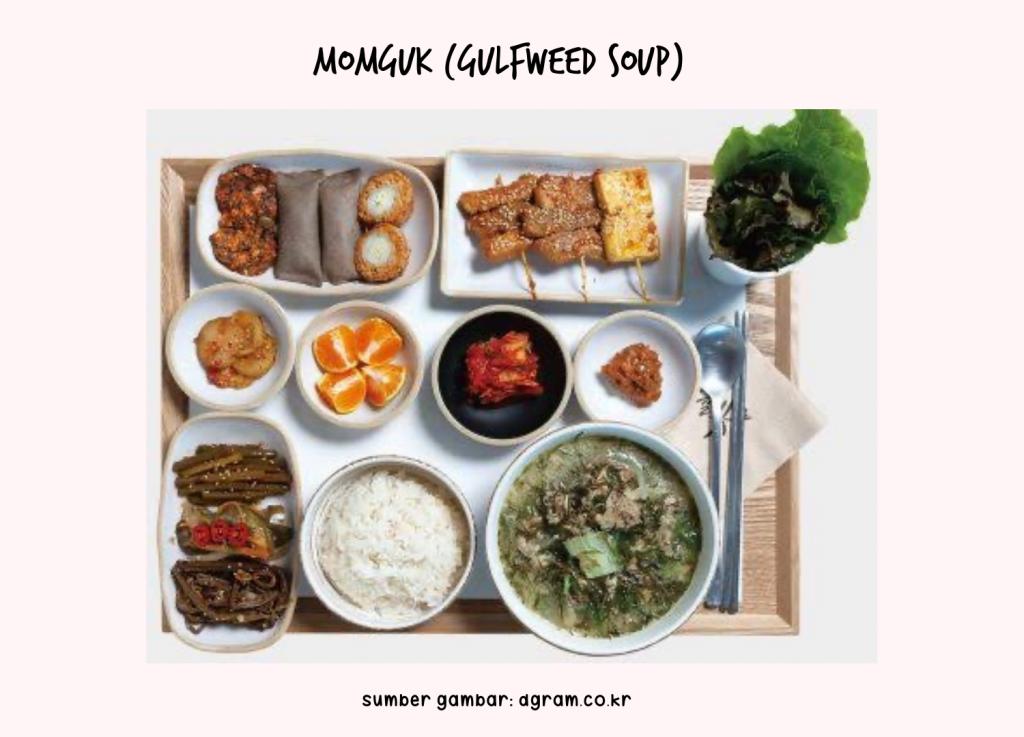 Momguk (Gulfweed Soup)