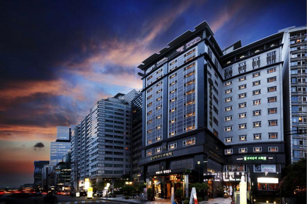 Gangnam Artnouveau City Hotel